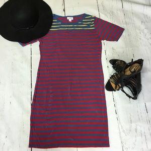 LuLaRoe Striped Julia Dress